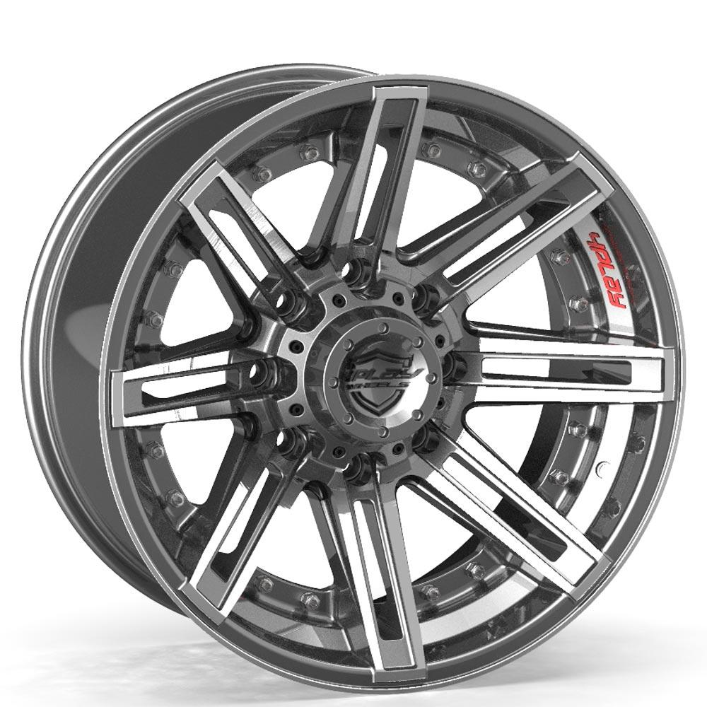Chevy Truck Off Road Wheels - 4PLAY Wheels