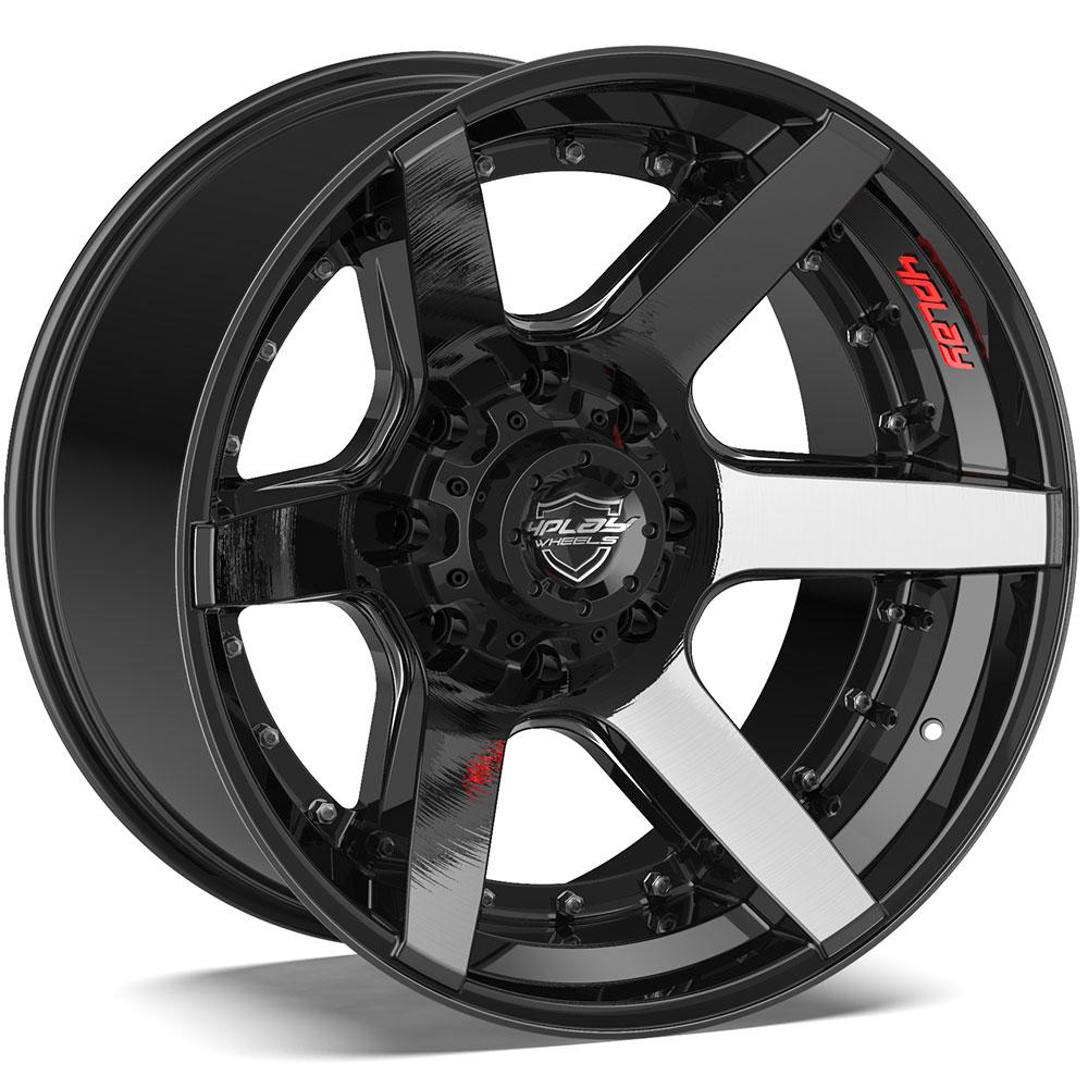 Chevy Truck Off Road Wheels - 4PLAY Truck Wheels