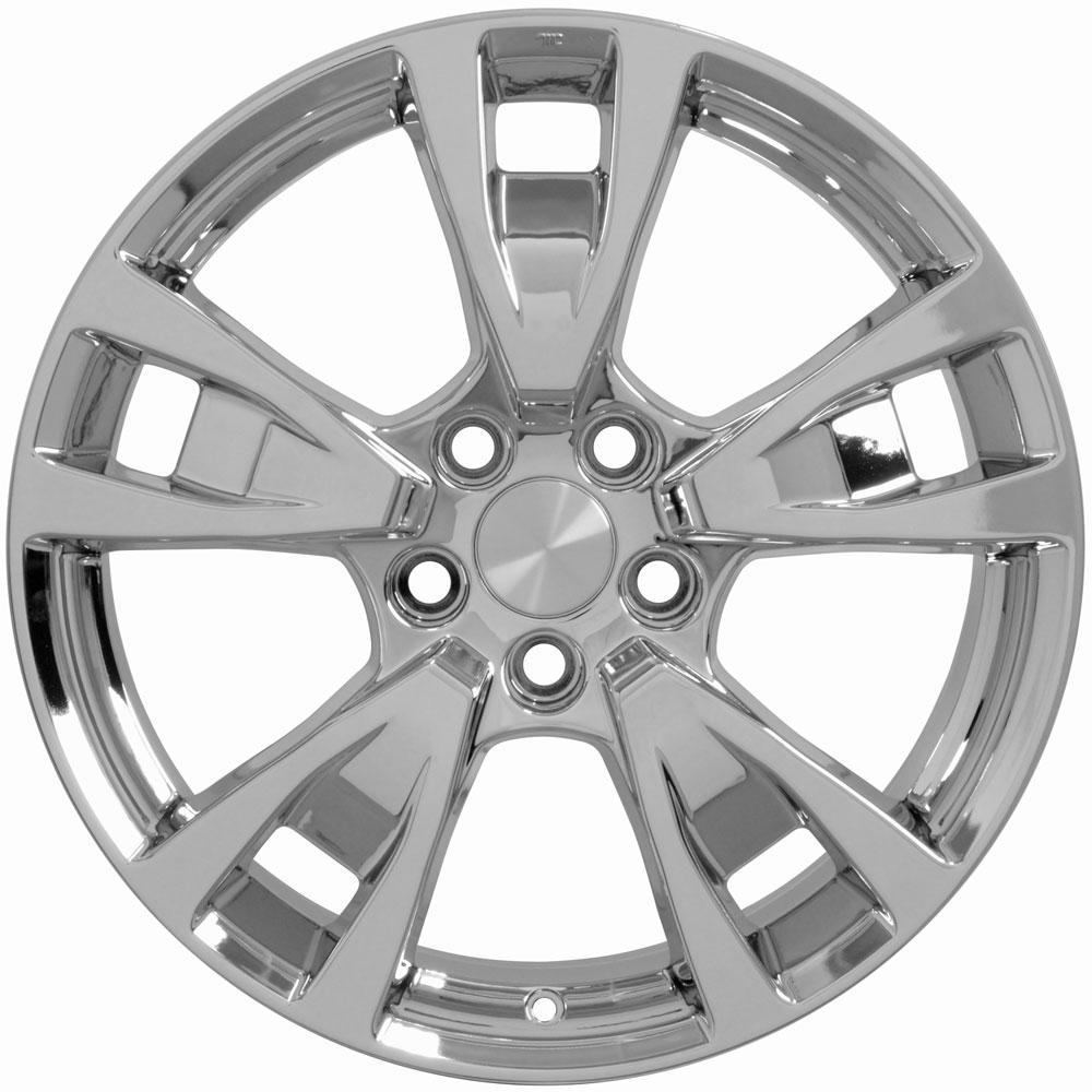 "19"" Wheel For Acura TL AC06 19x8 Chrome Rim"
