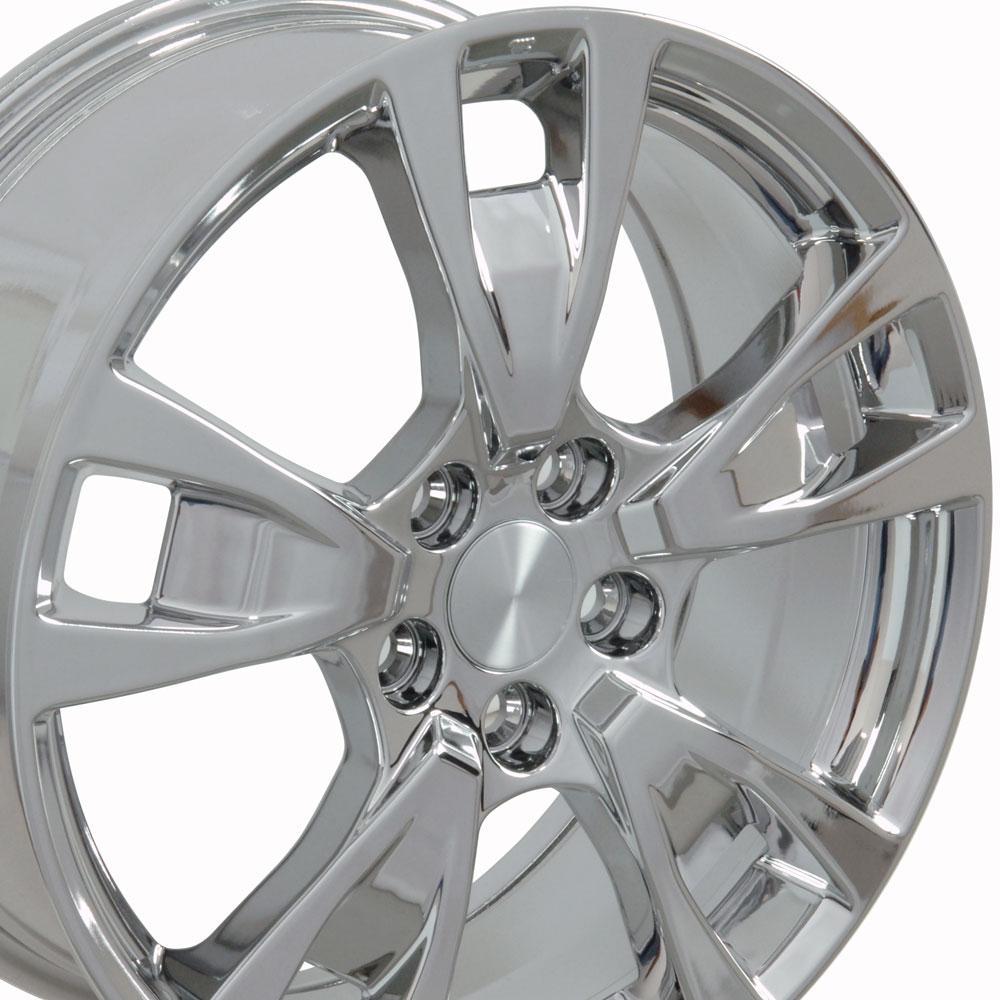 19x8 Wheel Fits Acura TL Style Chrome 71788 Rim W1X