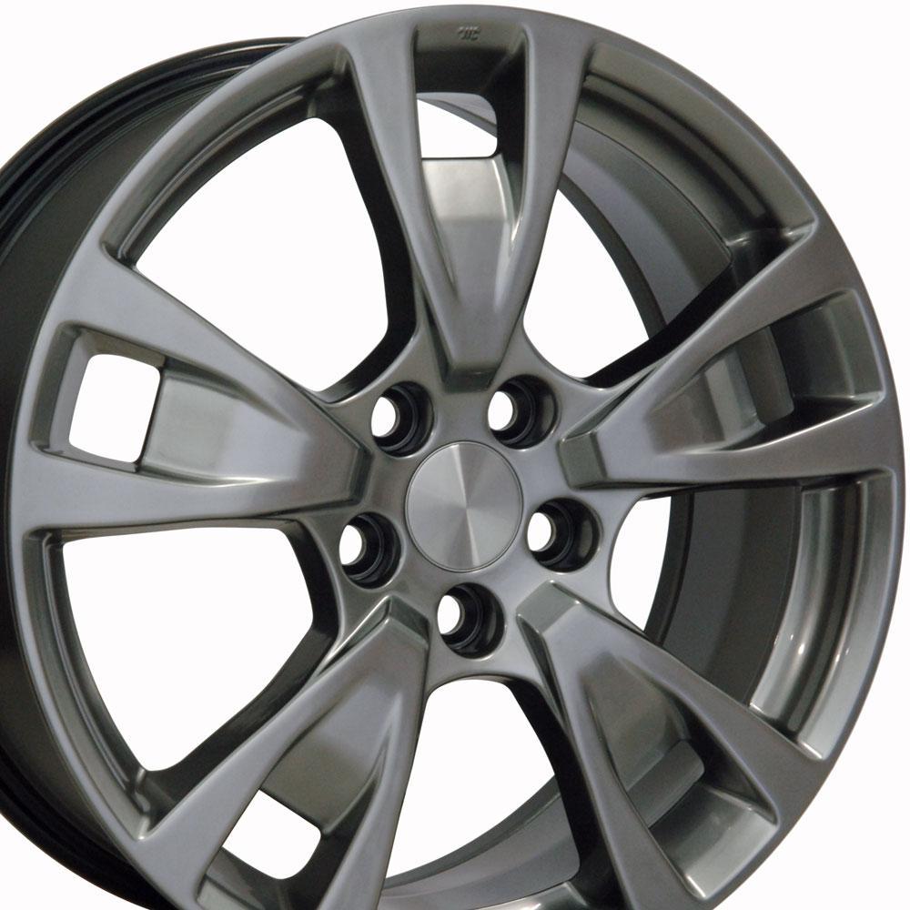 19x8 Wheel Fits Acura TL Style Silver 71788 Rim W1X
