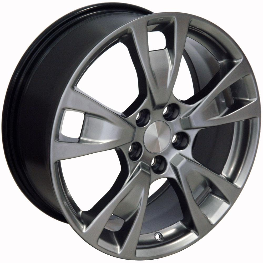 "19"" Fits Acura TL Style Wheels Silver 19x8 Set Of 4 Rims"
