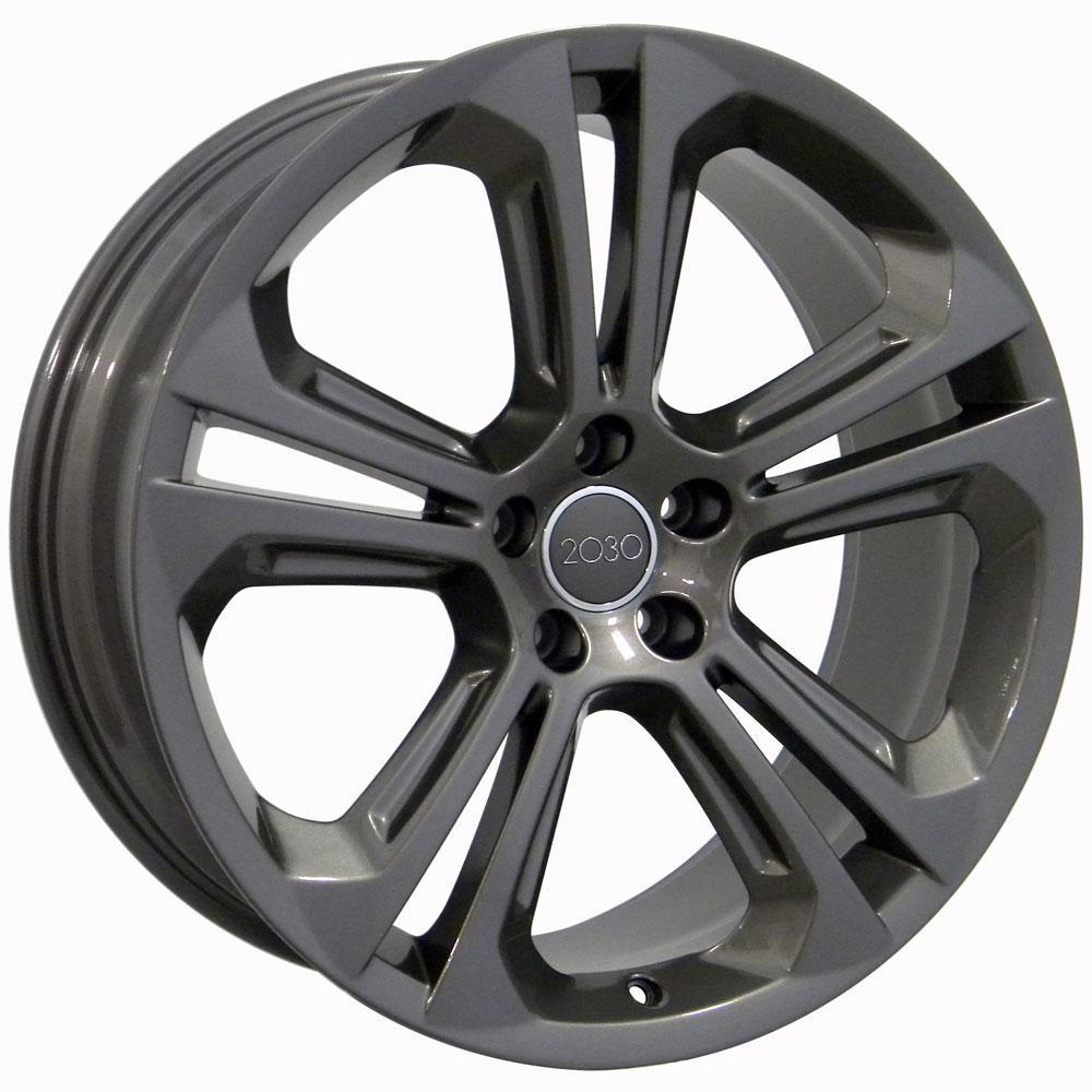 "One 20"" Fits Audi Q5 Style Wheel Gunmetal 20x8.5 B1W"
