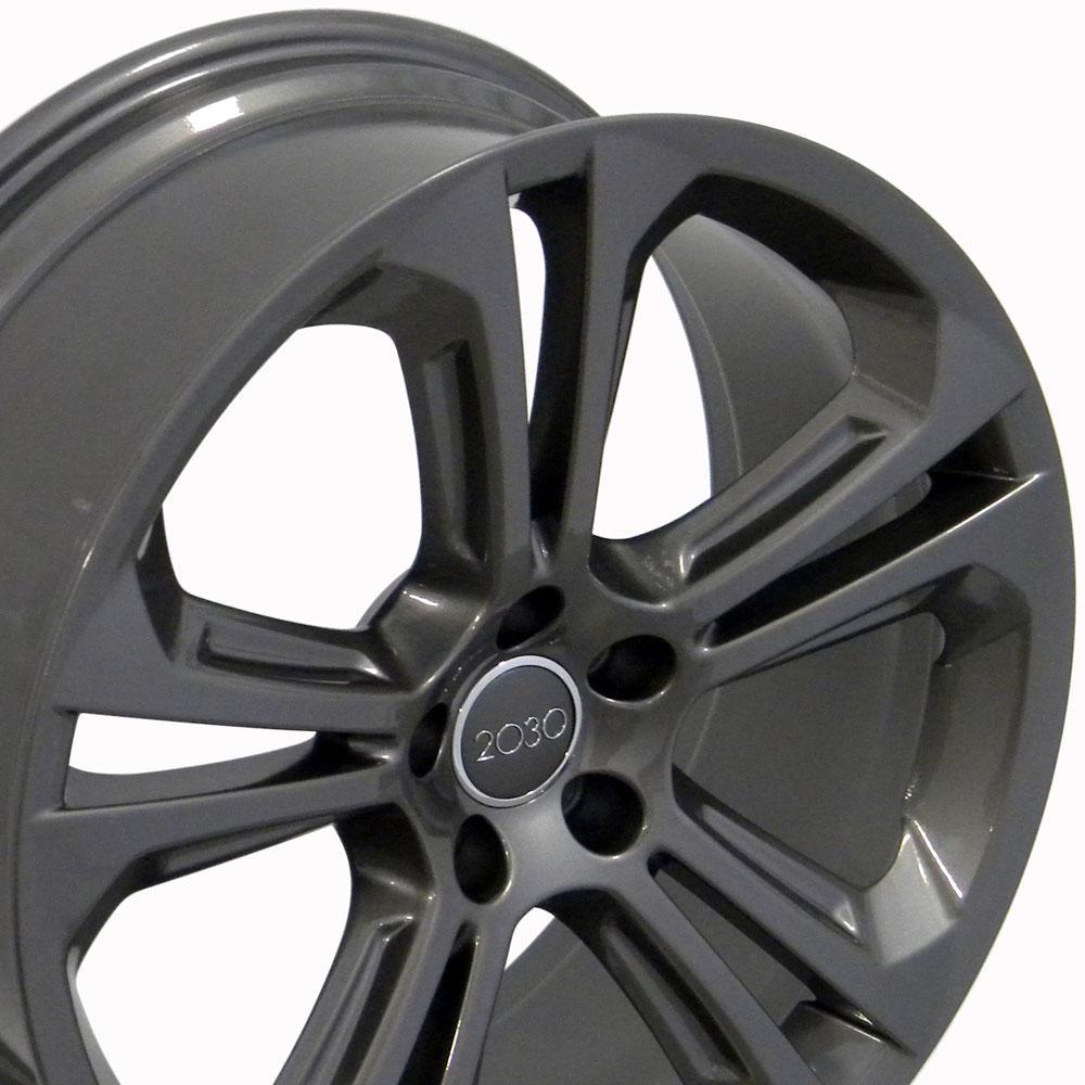 """20"""" Wheel Fits Audi Q5 AU24 20x8.5 Gunmetal Hollander 58849"""