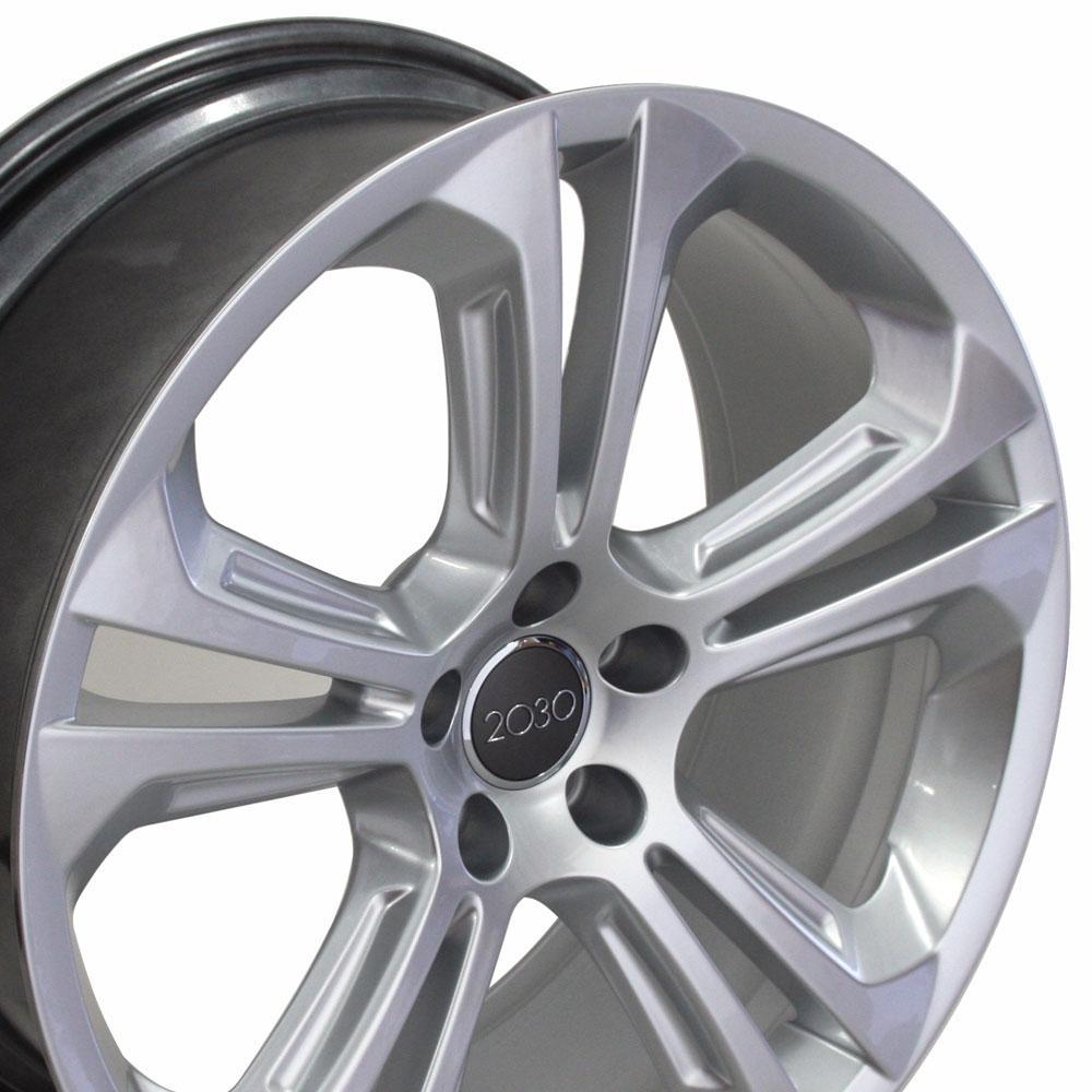 Audi Q5 Style Replica Wheel Hyper Silver 20x8.5