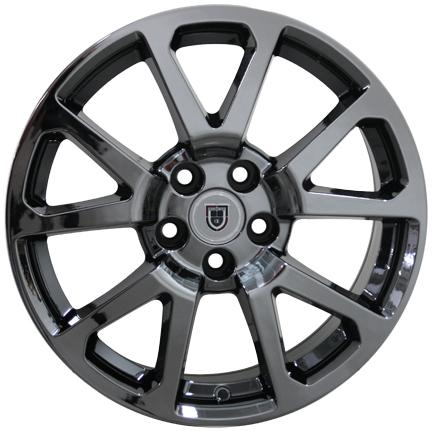 One 18 Quot Cadillac Cts V Replica Wheel Black Chrome