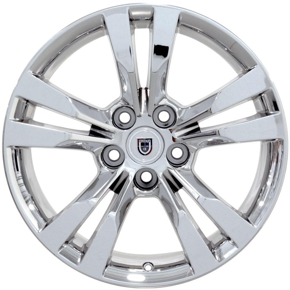 "18"" PVD Chrome CTS Style Wheel 18x9.5 Rim Fits Cadillac"