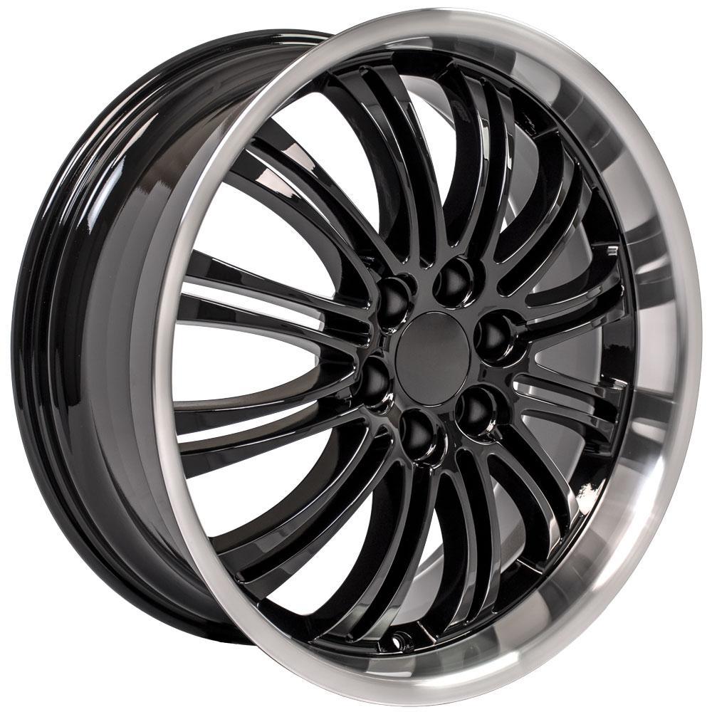 "22"" Wheel For Cadillac Escalade CA81 22x9 Gloss Black"