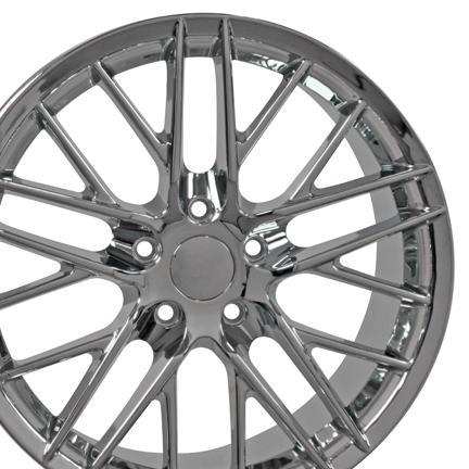 Chevrolet Corvette C6 Zr1 Wheels