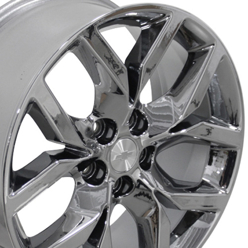 19 inch pvd chrome rims fit chevy impala cv20 19x8 5 replica wheels. Black Bedroom Furniture Sets. Home Design Ideas