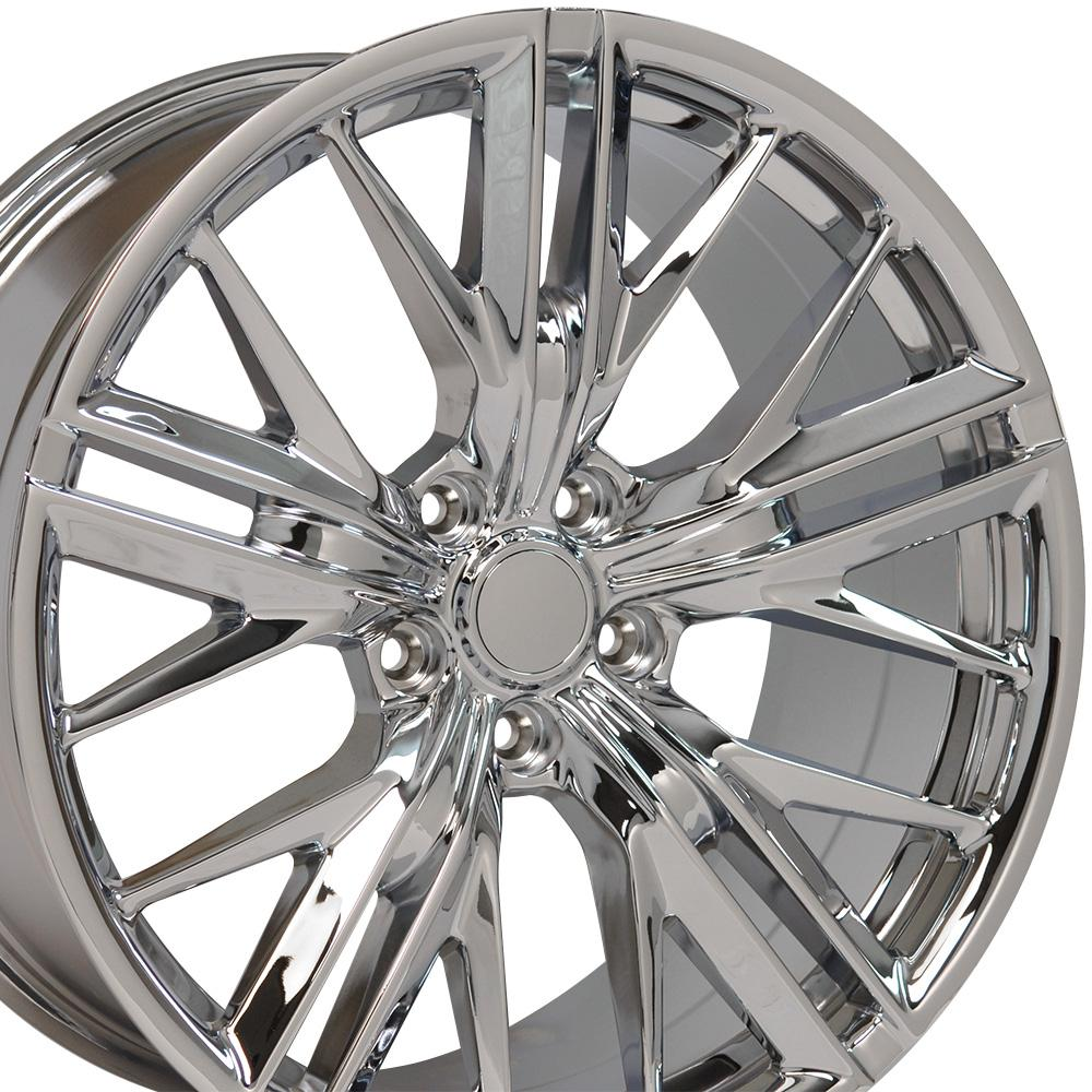 20x8 5 Chrome 5th Gen Camaro Zl1 Wheels Set Of 4 Rims Fit