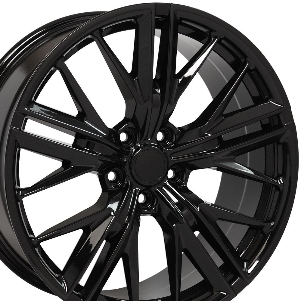 20x8 5 20x9 5 Gloss Black 5th Gen Camaro Zl1 Wheels Set Of