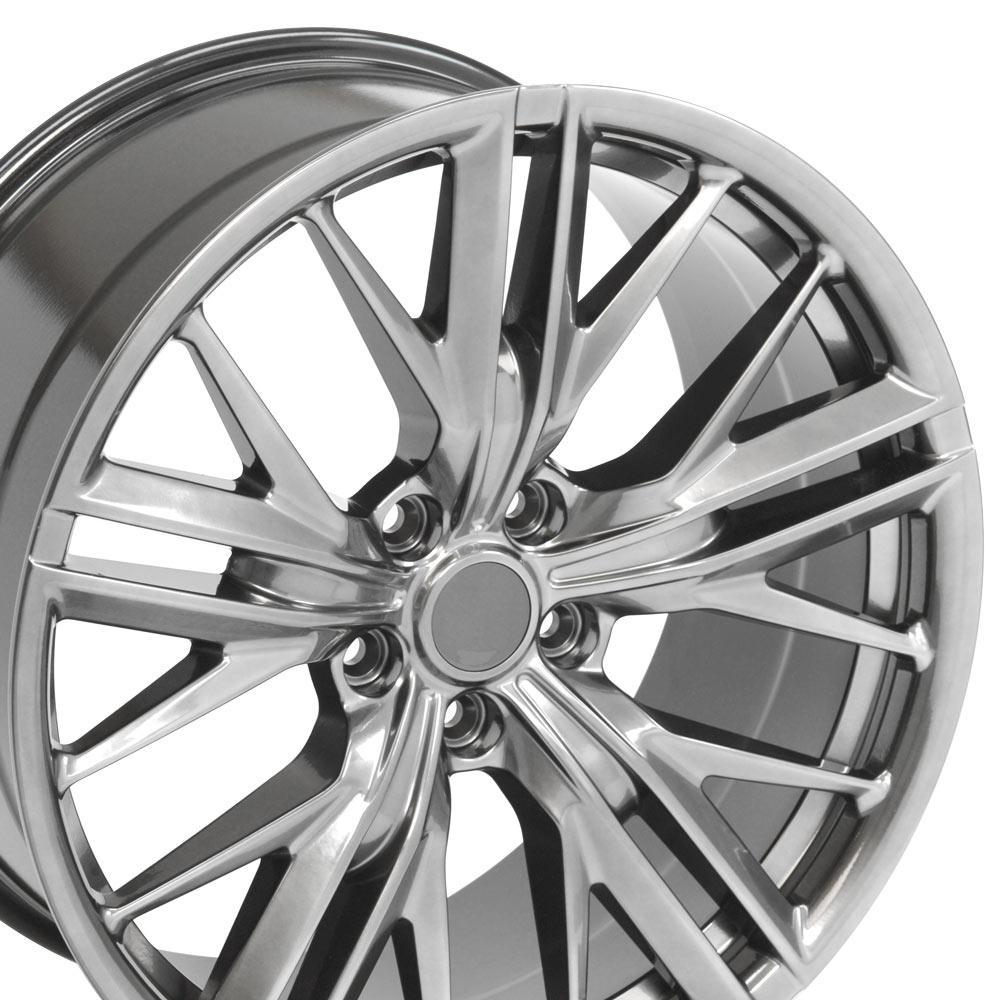 20x9 5 Hyper Black Camaro Zl1 Style Wheel 20 Quot Rim Fits