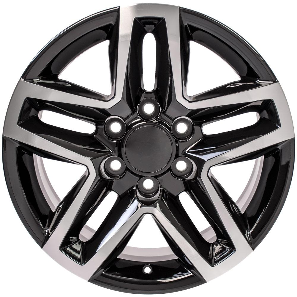 Replica Chevy truck wheels - Fits 18x8.5 Machined Chevy Trail Boss Rims