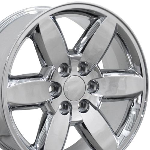 20 yukon wheel chrome 20x8 5 fits gmc cadillac chevrolet upc 9469785
