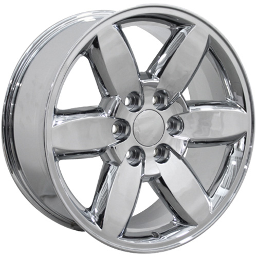 20x8 5 Wheel Fits Chevrolet Silverado Chrome Gmc Truck Rim 5420