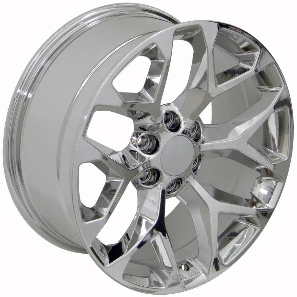 20x9 Rim Fits Gm Truck Sierra Style Chrome Wheel 5668