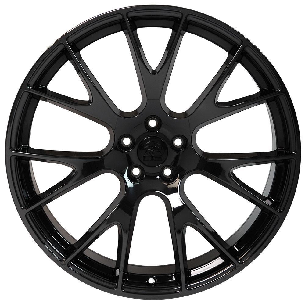 dg15 22 inch pvd black chrome rims fit dodge charger challenger 2008 Chevy Cobalt Body Kits wheels wheels wheels wheels