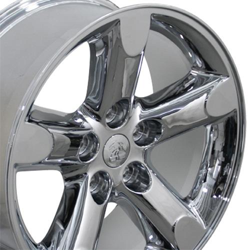 """20"""" Chrome RAM 1500 Wheels Set of 4 20x9 Rims Fits Dodge Durango Dakota Aspen"""
