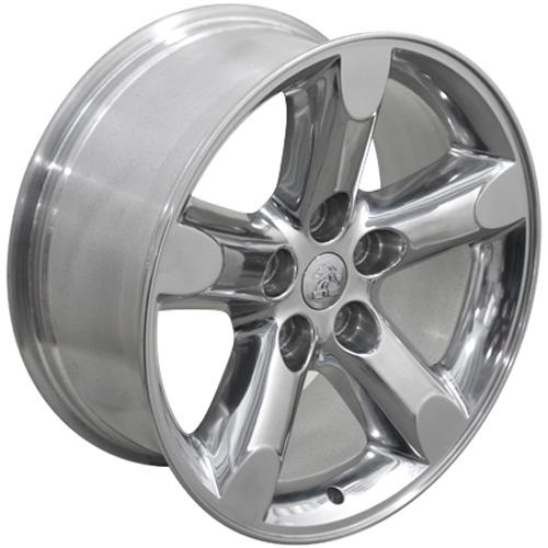 20 polished ram 1500 wheels 20x9 set opf 4 rims fits. Black Bedroom Furniture Sets. Home Design Ideas