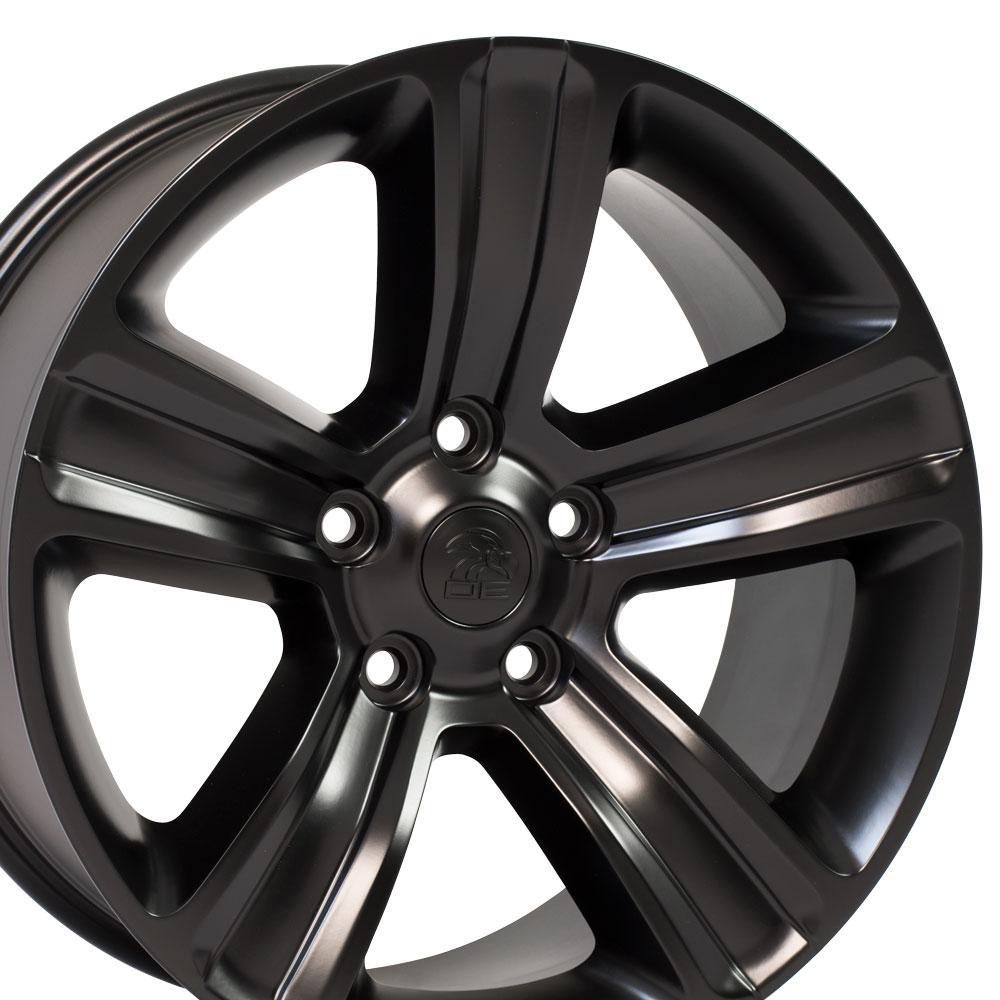 Dodge Ram Rims >> Details About Cp 20 Rims Fit Dodge Ram 1500 Durango Dakota Aspen Satin Black 2453