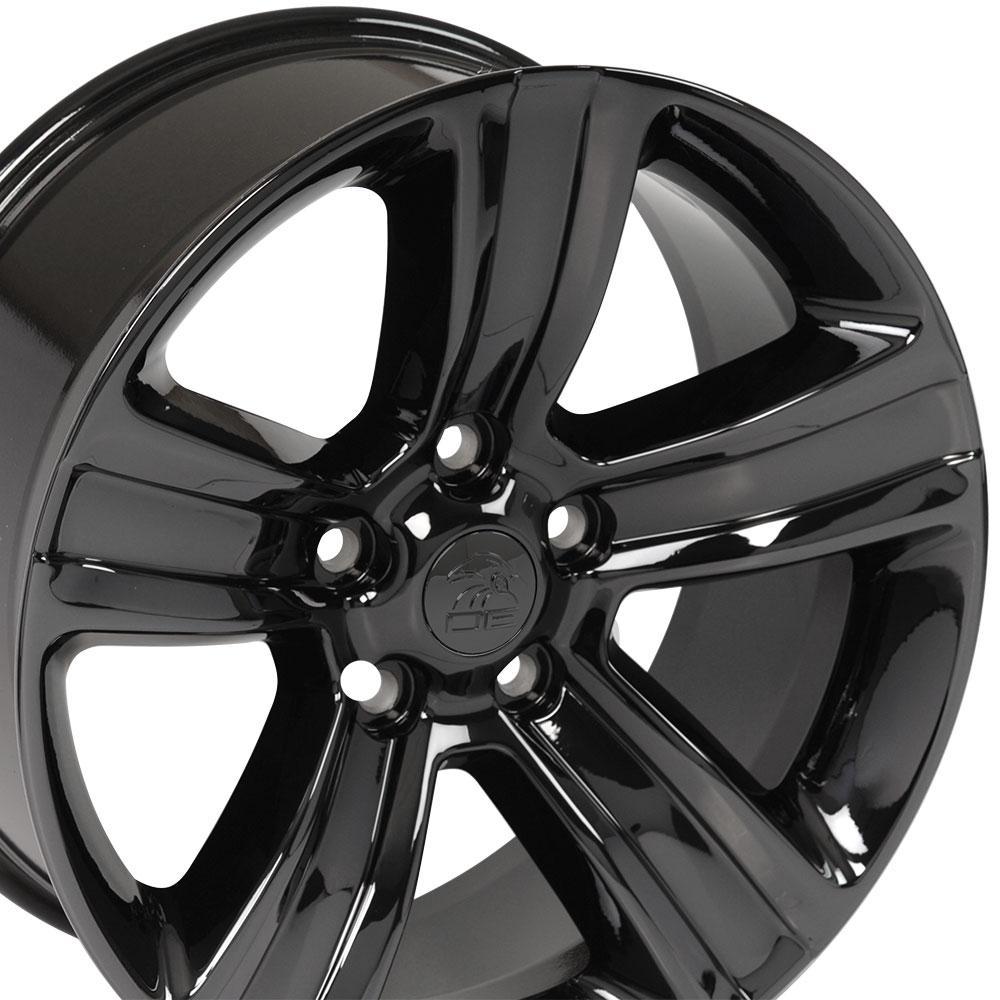 Dodge Wheels Ram 1500 Wheels Dg65 20x9 Black Chrome Dodge Truck Rims