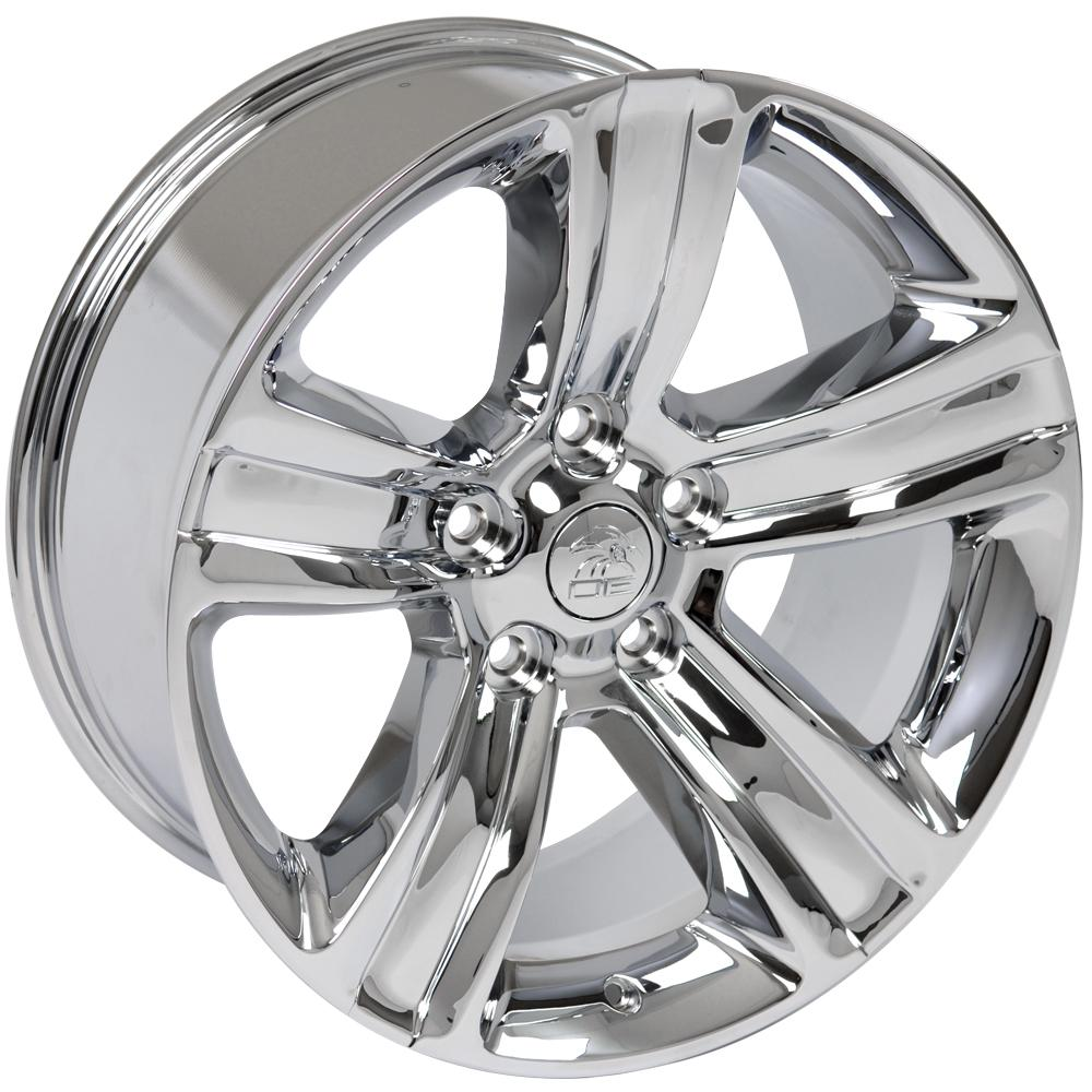 "20"" Chrome Ram 1500 Sport Style Wheel 20x9 Rim Fits Dodge"