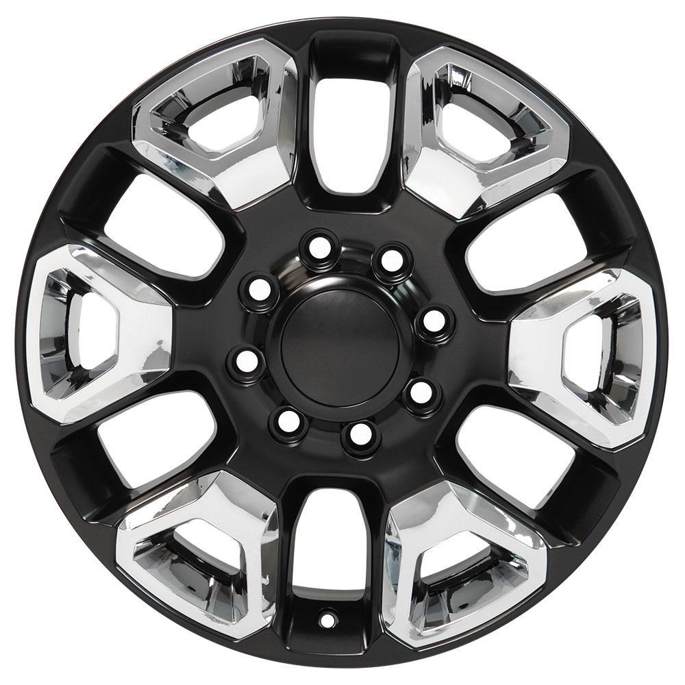 20 rims fit dodge ram 8 lug satin black w chrome wheels 2562 Ram 1500 Turbo Diesel Engine categories