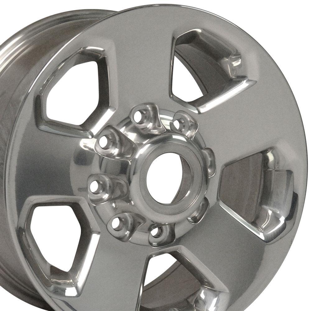 polished dodge ram   heavy duty oem wheel  lug  factory rim cp ebay