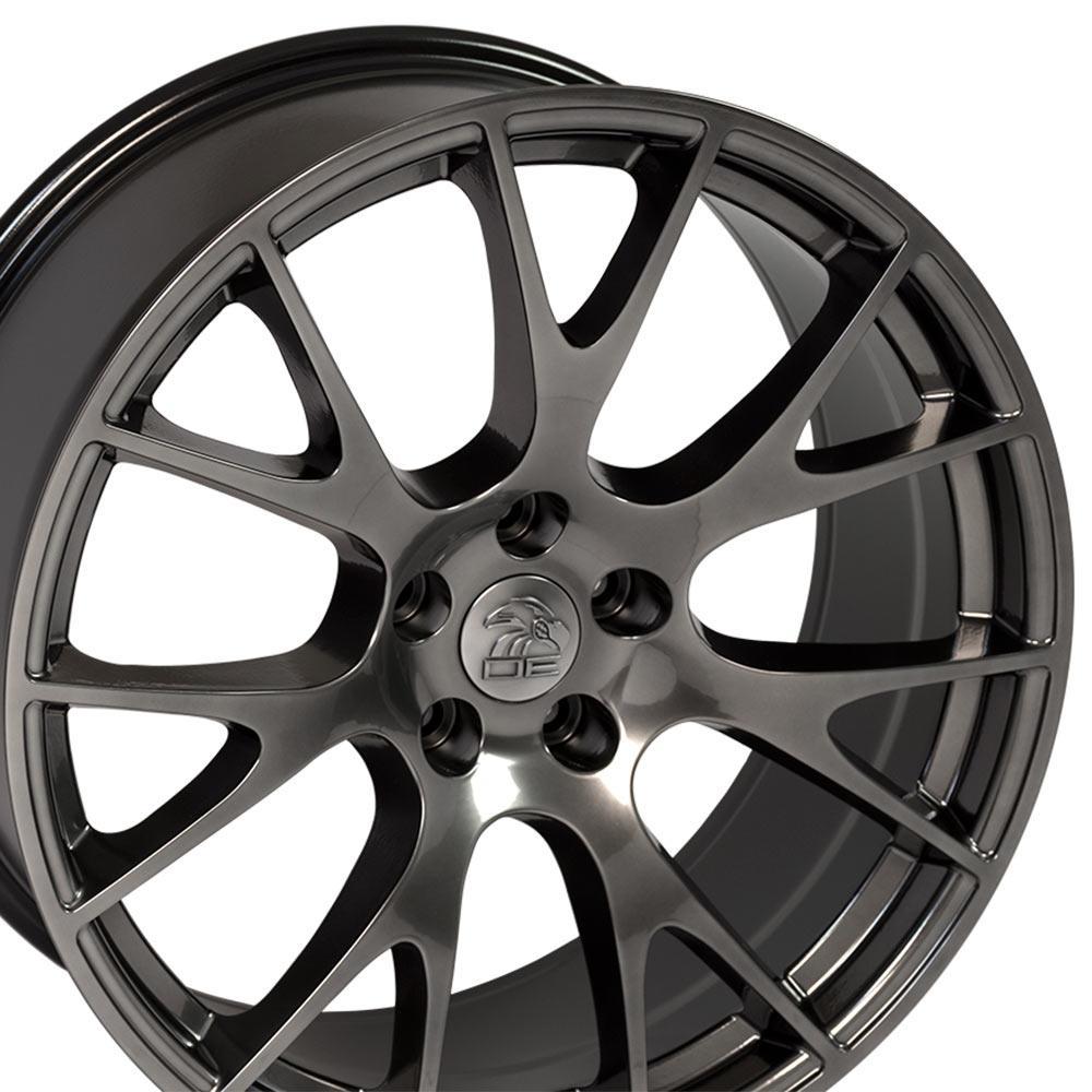 OEW Fits 22x10 Hyper Ram Hellcat Wheels & Bridgestone
