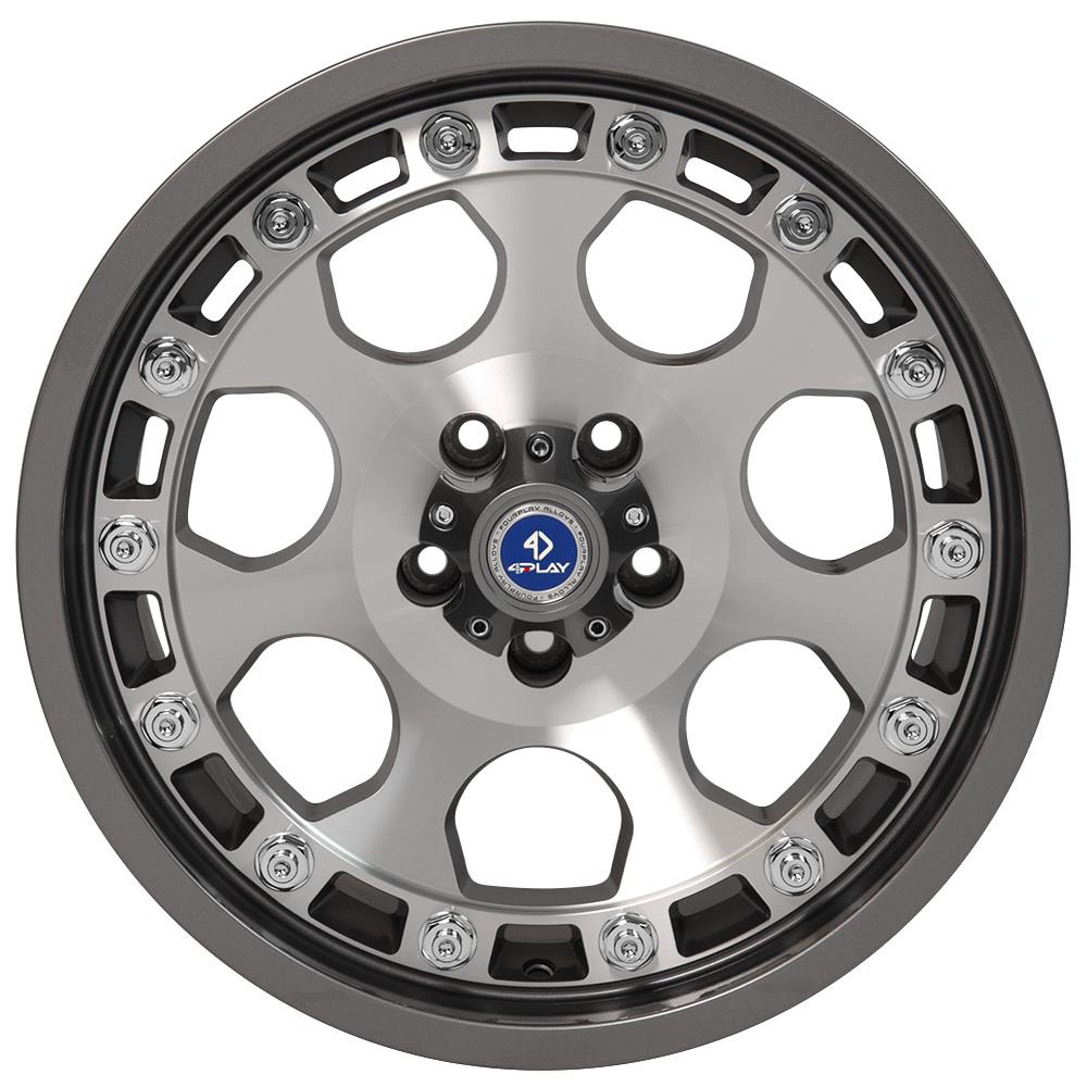 Browse our complete line of 4Play custom aftermarket wheels for Chevy trucks, GMC trucks, Ford trucks and Jeep SUVs