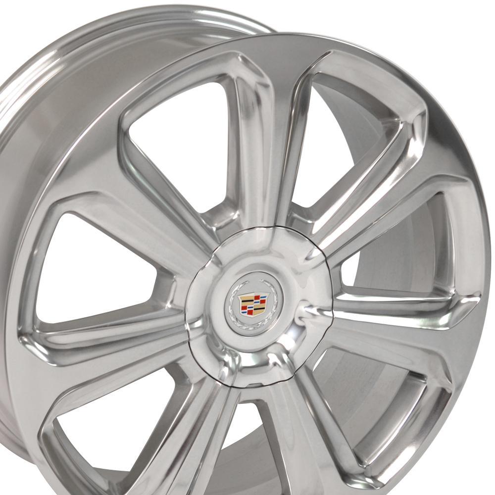20x8 Cadillac SRX Factory Original Wheel Polished OEM 4708