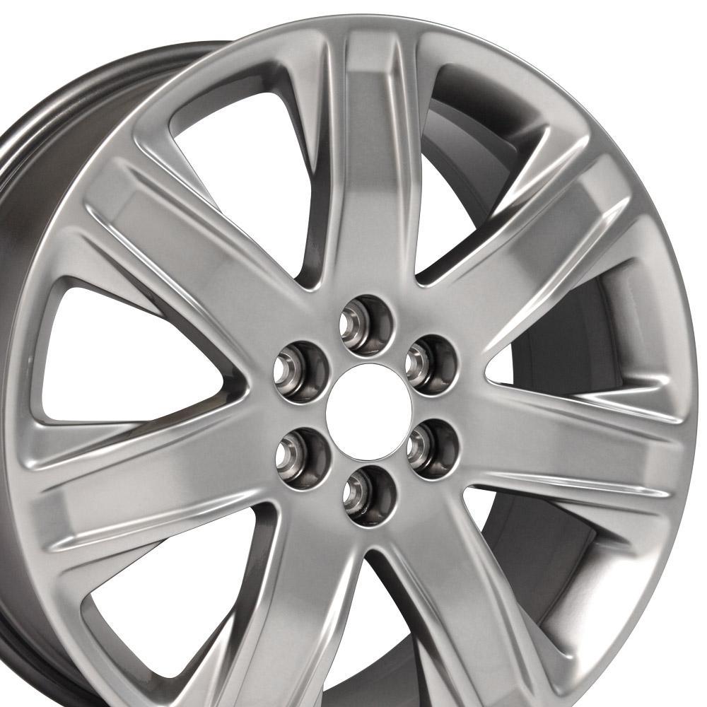 xo verona v cadillac silver pin coupe cts rims fits wheels concave