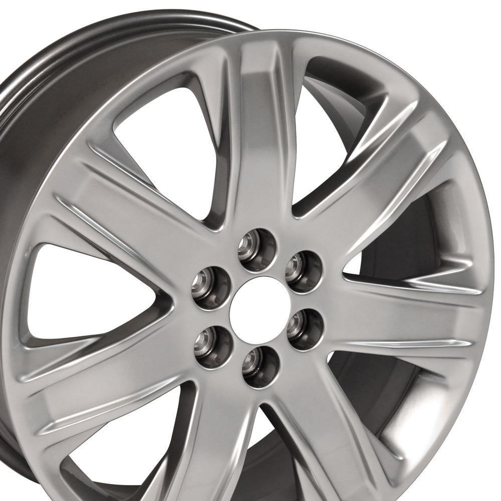 "Cadillac Srx: 20x8 Silver Cadillac SRX Wheel 20"" OEM Rim 4759 Saab 9-4X CP"