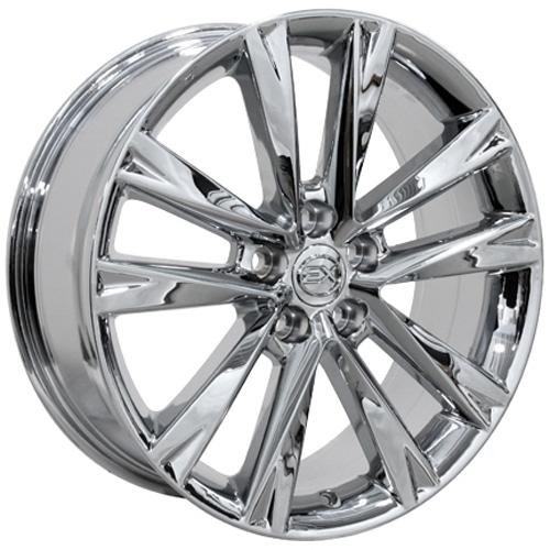 """Lexus Es 350 Tires: Find 19"""" Chrome RX350 F Sport Wheels 19x7.5 Set Of 4 Rims"""
