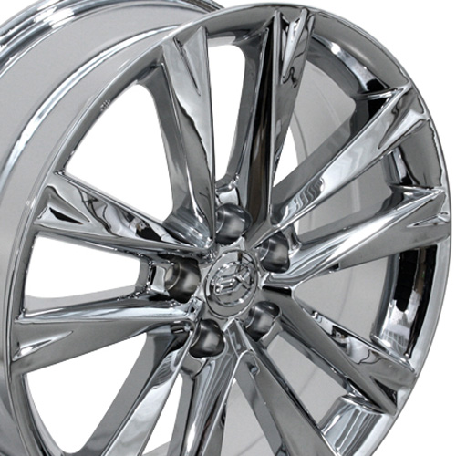 "Lexus Es 350 Tires: One 19"" Fits Lexus RX350 F Sport Style Wheel Chrome 19x7.5"