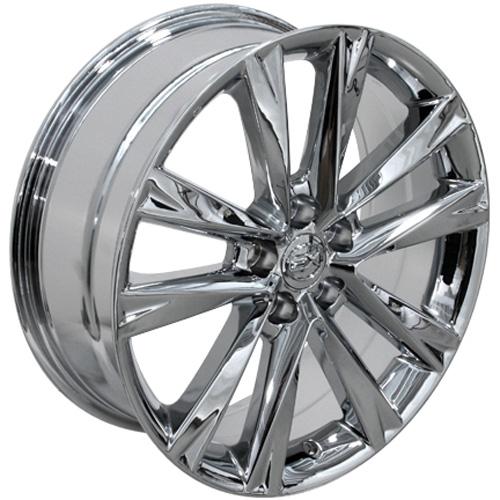 """Lexus Es 350 Tires: 19"""" Fits Lexus RX350 F Sport Wheels Chrome 19x7.5 Set Of 4"""
