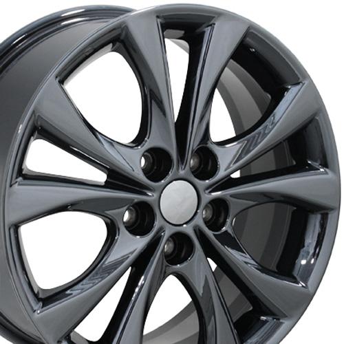 """2003 2008 Mazda 6 Wheels For Sale: 17"""" PVD Black Chrome Mazda 3 Wheel 17x7 Rim Fits Mazda 3 2014"""