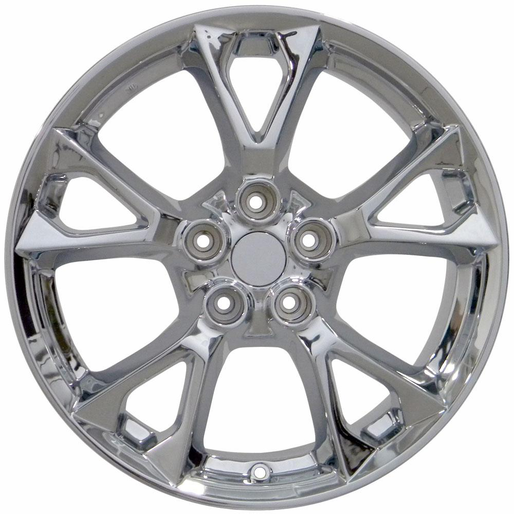 18x8 Rims Fit Nissan - Maxima Style Chrome Wheels 62582 ...