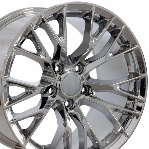 17x9.5 set rims for Chevy Corvette