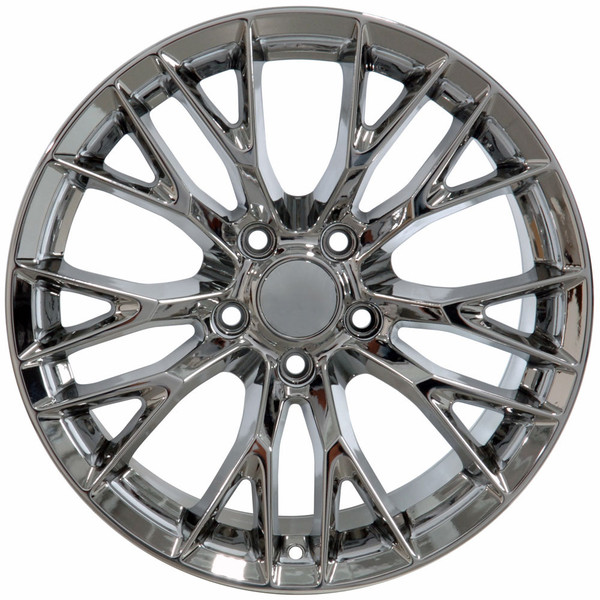 C7 Z06 style rims for Corvette