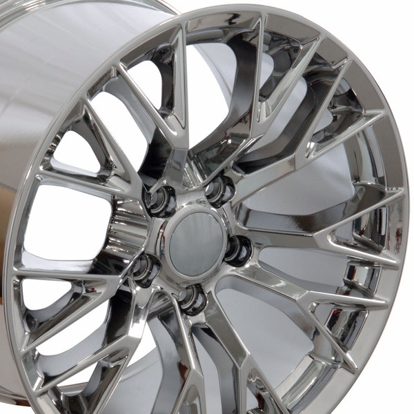 17x9.5 Chrome rims for Camaro