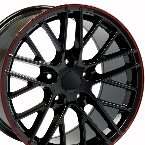 17x9.5 CV08A rims for Corvette