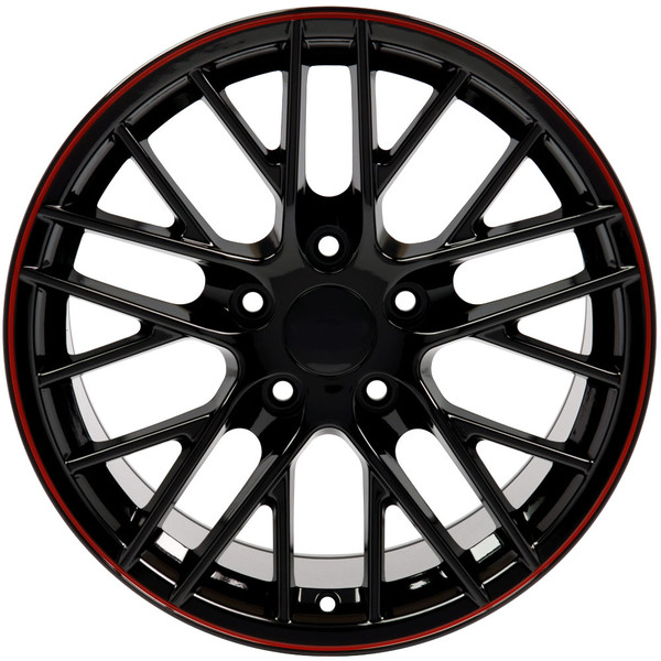 17x9.5 CV08A rims for Camaro