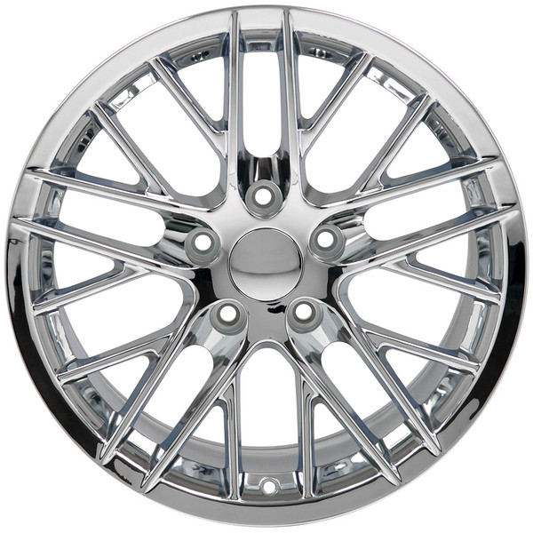 c6 zr1 corvette chrome rims