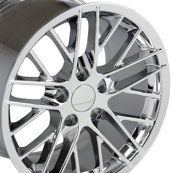17 inch chrome corvette rims