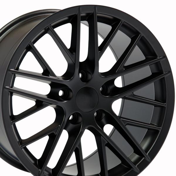 Rims for Corvette Black C6 ZR1