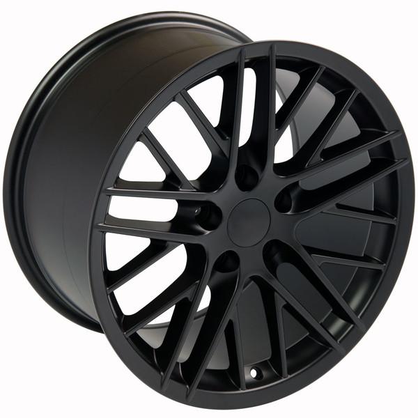 Wheels for Corvette Black C6 ZR1