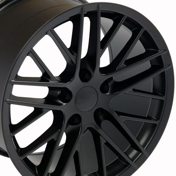 17 inch black corvette rims
