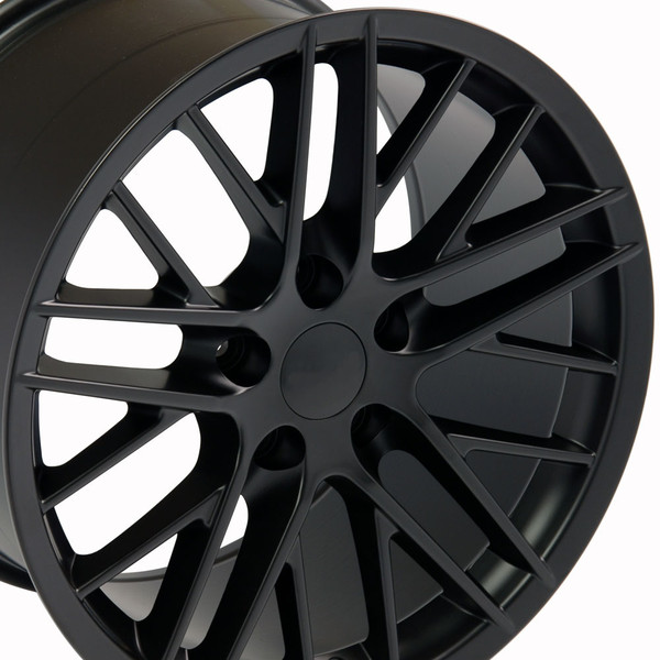 17 inch black corvette rims